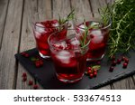 refreshing drink with... | Shutterstock . vector #533674513