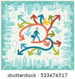 business multiple choice | Shutterstock .eps vector #533676517