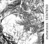 illustration. silver foil... | Shutterstock . vector #533678563