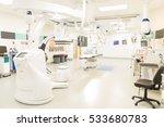 wide view of an empty modern...   Shutterstock . vector #533680783