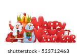 happy new year composition with ... | Shutterstock .eps vector #533712463