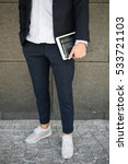 young hipster businessman in... | Shutterstock . vector #533721103
