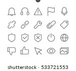 General UI Pixel Perfect Well-crafted Vector Thin Line Icons 48x48 Ready for 24x24 Grid for Web Graphics and Apps with Editable Stroke. Simple Minimal Pictogram Part 3-3