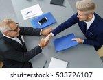 stylish young job seeker in an... | Shutterstock . vector #533726107