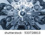 automatic wire bending machine... | Shutterstock . vector #533728813
