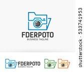 folder photo  photography ... | Shutterstock .eps vector #533741953