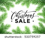 promo sale poster for christmas.... | Shutterstock .eps vector #533759257