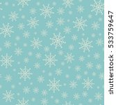 holiday backdrop  snowflake... | Shutterstock .eps vector #533759647