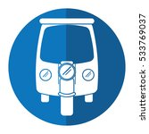 motor rickshaw transport...   Shutterstock .eps vector #533769037