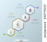 unusual infographic design... | Shutterstock .eps vector #533779237