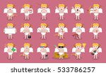 big collection of vector... | Shutterstock .eps vector #533786257