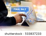 final sale  business concept | Shutterstock . vector #533837233