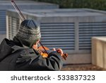 Homeless Violonist Plays On Th...