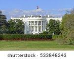 the white house in washington...   Shutterstock . vector #533848243