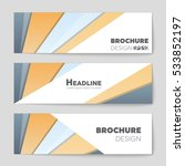 abstract vector layout... | Shutterstock .eps vector #533852197