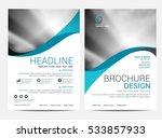 brochure layout design template | Shutterstock .eps vector #533857933