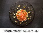 Tartare Of Salmon And Avocado....