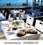 various seafood  meals and... | Shutterstock . vector #533900737