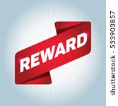 reward arrow tag sign. | Shutterstock .eps vector #533903857