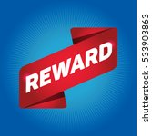 reward arrow tag sign. | Shutterstock .eps vector #533903863
