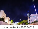 night in paradise palm arab... | Shutterstock . vector #533904817