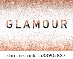 glamour invitation card ... | Shutterstock .eps vector #533905837