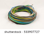 Roll Of Multicolored Electric...