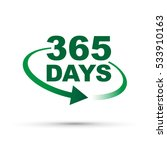 365 days a year around the... | Shutterstock .eps vector #533910163