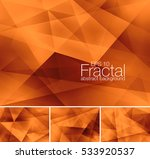 fractal abstract background.... | Shutterstock .eps vector #533920537