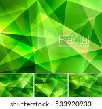 fractal abstract background.... | Shutterstock .eps vector #533920933