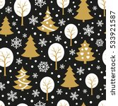 seamless pattern with... | Shutterstock .eps vector #533921587