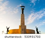 liberty statue monument at... | Shutterstock . vector #533931703