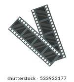 film strip icon vector... | Shutterstock .eps vector #533932177