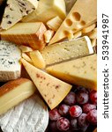 various types of cheese... | Shutterstock . vector #533941987