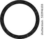 black texttured frame  | Shutterstock .eps vector #533946103