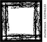 black texttured frame  | Shutterstock .eps vector #533946133