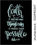 faith does not make things easy ...   Shutterstock .eps vector #533990347