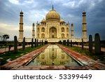 taj mahal | Shutterstock . vector #53399449