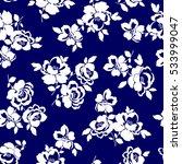 flower illustration pattern   Shutterstock .eps vector #533999047