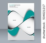 abstract flyer design... | Shutterstock .eps vector #534021217
