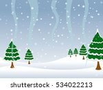 background landscape with... | Shutterstock .eps vector #534022213
