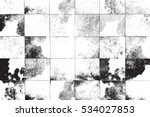 distress overlay checkered... | Shutterstock .eps vector #534027853