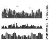vector illustration.city... | Shutterstock .eps vector #534028303
