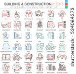 vector building constructions...