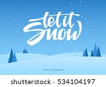vector illustration  hand... | Shutterstock .eps vector #534104197
