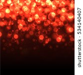 bokeh effect red light... | Shutterstock .eps vector #534140407