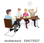 young people invited to... | Shutterstock .eps vector #534173527