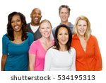 large group of people.  | Shutterstock . vector #534195313