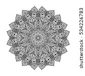 beautiful mandala | Shutterstock .eps vector #534226783