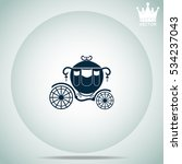 carriage  vector illustration. | Shutterstock .eps vector #534237043